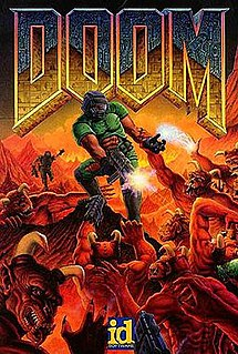 <i>Doom</i> (1993 video game) 1993 first-person shooter