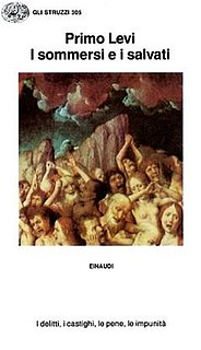 <i>The Drowned and the Saved</i> book by Primo Levi