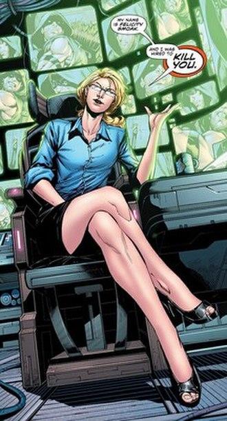 Felicity Smoak - Image: Felicity Smoak (The New 52)
