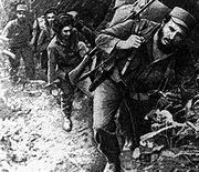 Fidel Castro in his days as a guerrilla