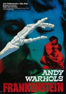 <i>Flesh for Frankenstein</i> 1973 film by Andy Warhol, Paul Morrissey, Antonio Margheriti