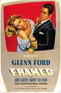 <i>Framed</i> (1947 film) 1947 film by Richard Wallace