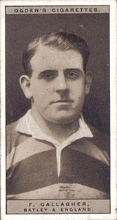 Frank Gallagher (rugby league) GB & England international rugby league footballer