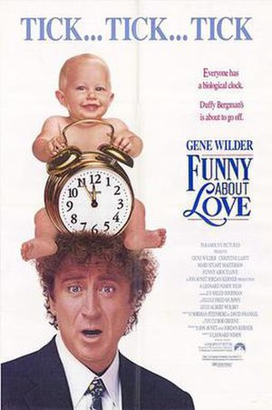 Funny About Love - Theatrical release poster
