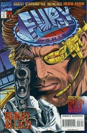 Fury of S.H.I.E.L.D. - Cover of issue 3, by Corky C. Lehmkuhl and Mark McKenna