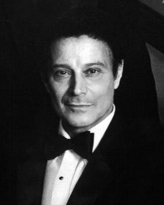 Gerald Arpino - Arpino in 1981