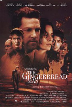 The Gingerbread Man (film) - Theatrical release poster