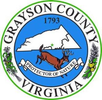 Grayson County, Virginia - Image: Grayson seal