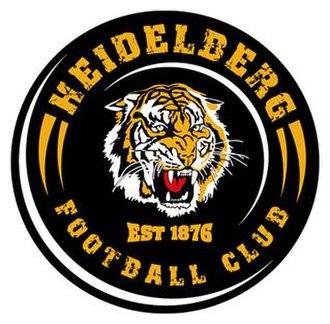 Heidelberg Football Club - Image: HFC Tigers