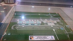 Hang Nadim Airport - Image: Hang Nadim DED 1