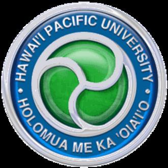 Hawaii Pacific University - Image: Hawaiipacificunivers itylogo