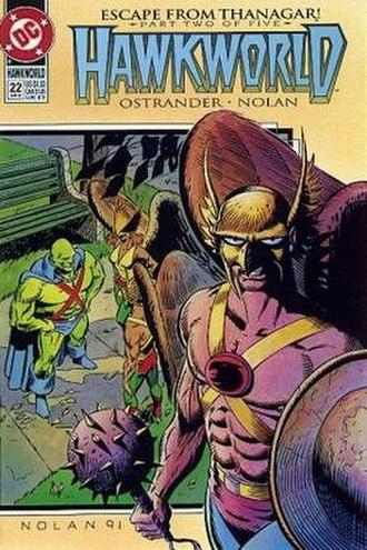 Hawkman (Fel Andar) - Image: Hawkworldseries 22
