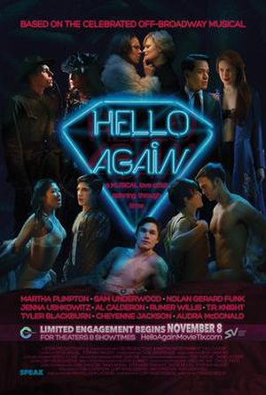 Hello Again (2017 film) - Theatrical release poster