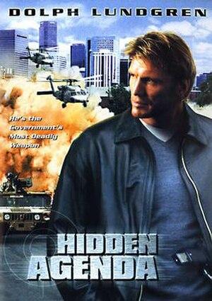 Hidden Agenda (2001 film) - DVD cover