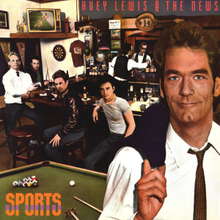 Image result for Huey Lewis and the news sports album cover