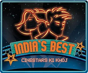 India's Best Cinestars Ki Khoj - Title card of India's Best Cinestars Ki Khoj.