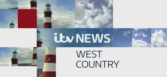 ITV News West Country - Title card for the west sub-region, depicting Smeaton's Tower