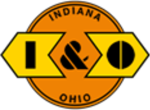 Indiana and Ohio Railway - Image: Indiana and Ohio Railway logo