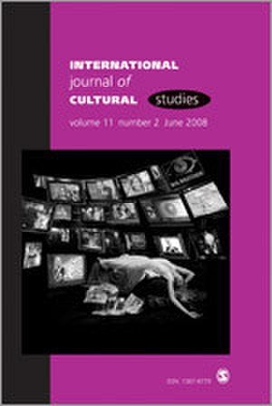 International Journal of Cultural Studies - Image: International Journal of Cultural Studies Journal Front Cover