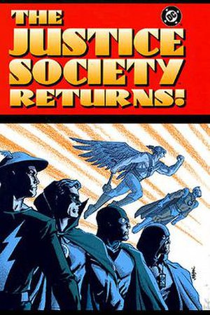 The Justice Society Returns - Image: JSA Returns