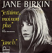 Je t'aime moi non plus by Jane Birkin et Serge Gainsbourg French vinyl Fontana release.jpg