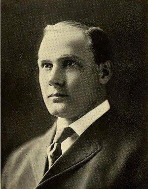 Joe Maddock (coach) - Coach Maddock from the 1909 University of Utah yearbook