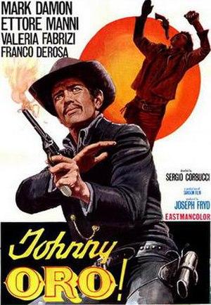 Johnny Oro - Italian film poster