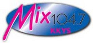 KKYS - Image: KKYS Mix 104.7 logo