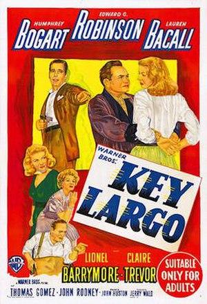 Key Largo (film) - Australian theatrical release poster
