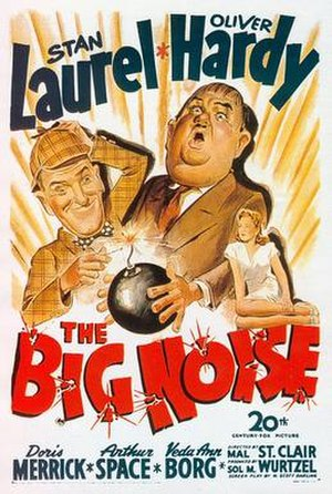 The Big Noise (1944 film) - Theatrical poster