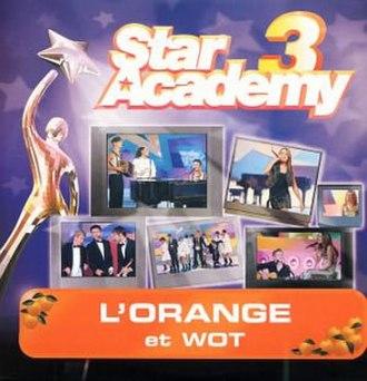 L'Orange (song) - Image: L'orange (Star Academy)