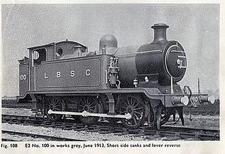 LB&SCR E2 class class of 10 two-cylinder 0-6-0T locomotives