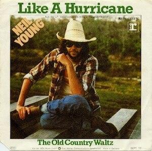 Like a Hurricane (Neil Young song) - Image: Like a Hurricane German single cover