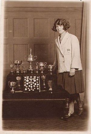 Louise Fawcett - A Photograph taken circa 1926 Polytechnic of Central London
