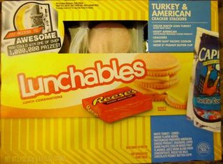 Lunchables brand of food manufactured by Kraft Foods