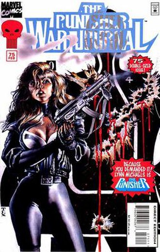 Lynn Michaels - Image: Lynn Michaels Punisher