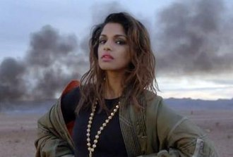 Bad Girls (M.I.A. song) - M.I.A. in a still from the music video