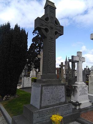 Josie MacAvin - MacAvin's gravestone, Glasnevin Cemetery