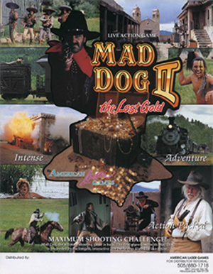 Mad Dog II: The Lost Gold - Image: Mad Dog II The Lost Gold Poster