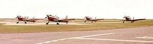 No. 1 Air Experience Flight RAF - Image: Manston AEF Fleet