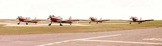 No. 1 Air Experience Flight RAF - Image: Manston AEF Fleet