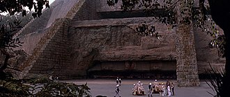 Yavin -  The Massassi Temple ruins seen in Episode IV have featured in several Expanded Universe works