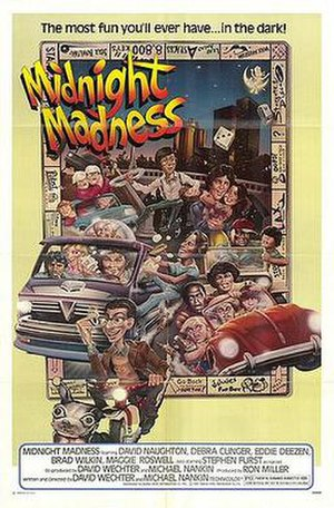 Midnight Madness (film) - Poster for Midnight Madness