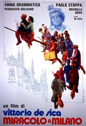 Miracle in Milan - Theatrical release poster