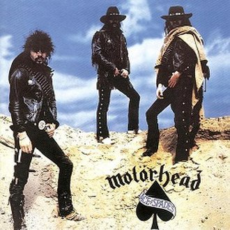 Ace of Spades (album) - Image: Motörhead Ace of Spades (1980)