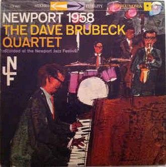 Newport 1958 (Dave Brubeck album) - Image: Newport 1958 Brubeck Ellington