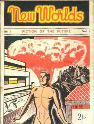 New Worlds (magazine) - First issue cover