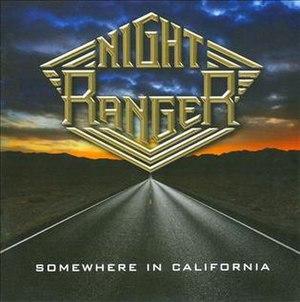 Somewhere in California (album) - Image: Night Ranger Somewhere in California, 2011