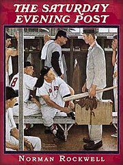One of many Saturday Evening Post covers