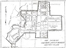 Old Dallas Map.Bluffview Dallas Wikipedia